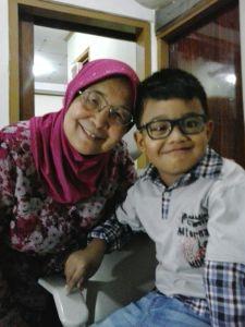 Noval and Grandmother