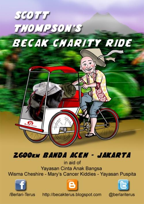 Scott Thompson Becak Poster Banda-Jakarta WEB2015