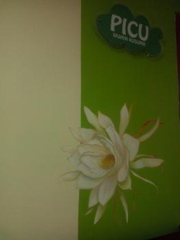 PICU Mural flower